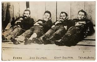 """Dalton Gang Dead on Display Lobby Board. 40 x 25"""""""