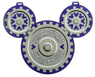 Mickey's Toontown Fair/Tomorrowland Double-Sided