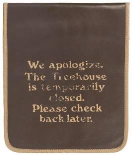 Swiss Family Robinson Treehouse Closure Sign. Walt