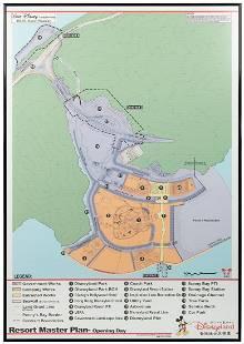 WDI Hong Kong Disneyland Master Plan Map. Hong Kong