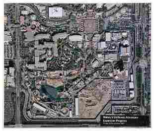 WDI Disney's California Adventure Park Satellite