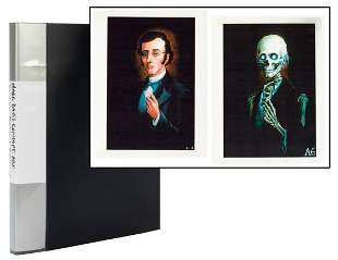 Lot of Over 50 Rare Pieces of Haunted Mansion Concept
