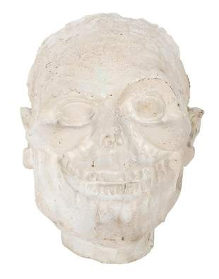 [The Haunted Mansion] Plaster Cast of the Face of the