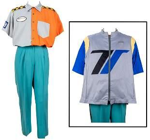 Test Track Castmember Costume. Walt Disney Co. Three