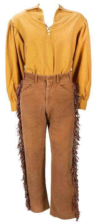 Disneyland Davy Crockett Canoes Cast Member Costume.