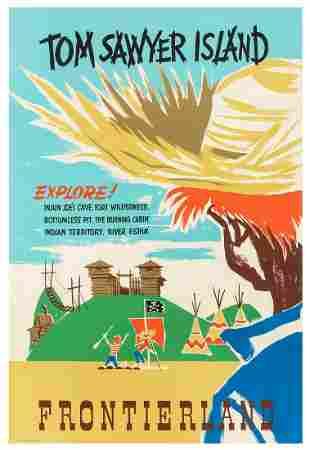 ARONSON, Bjorn. Frontierland / Tom Sawyer Island. Walt