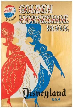 ARONSON, Bjorn. Golden Horseshoe Revue / Disneyland.