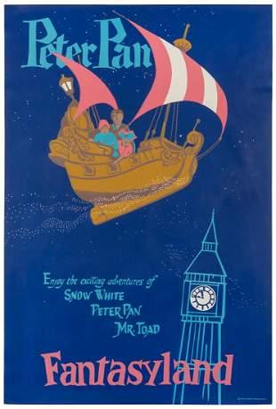 ARONSON, Bjorn. Peter Pan / Fantasyland. Walt Disney