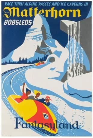 HARTLEY, Paul (American). Frontierland / Matterhorn.