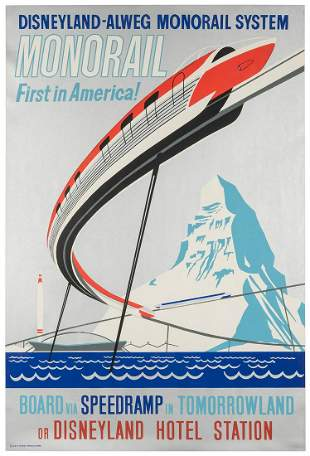 HARTLEY, Paul (American). [Monorail] First in America!