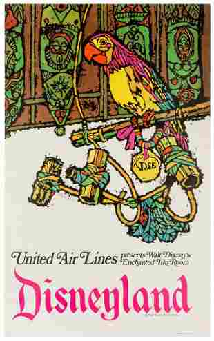 JEBARY, James (American). United Airlines Presents Walt
