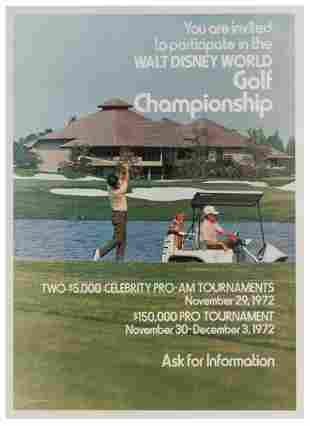 Walt Disney World / Golf Championship. Walt Disney