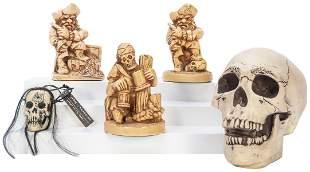 Lot of 5 Randotti Pirates of the Caribbean and Haunted