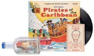 Three Rare Early Disneyland Pirates of the Caribbean