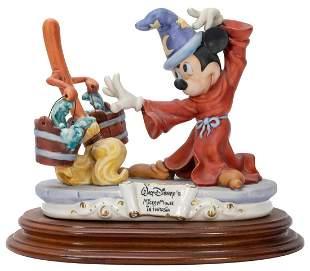 ARZENTON, Enzo (Italian). Capodimonte Mickey Mouse as
