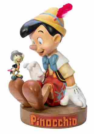 Big Fig Pinocchio. Cast resin. Designed by Disney