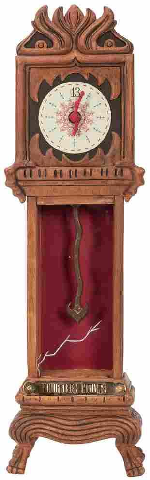 The Haunted Mansion 13 Hour Clock. Walt Disney Co. 16