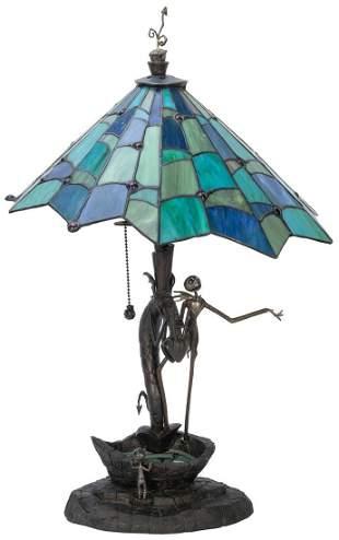 The Nightmare Before Christmas 10th Anniversary Lamp.
