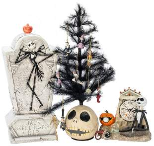 Lot of 5 The Nightmare Before Christmas Items.
