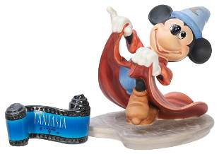 Fantasia Mickey Mouse and Opening Title Ceramic