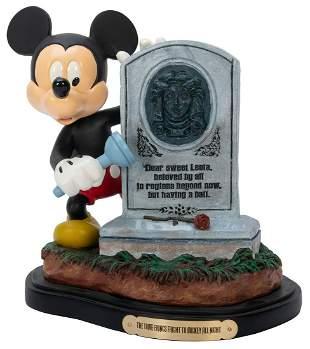 The Tomb Brings Fright to Mickey All Night. Walt Disney