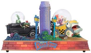 Who Framed Roger Rabbit? Snow Globe. Handcrafted.