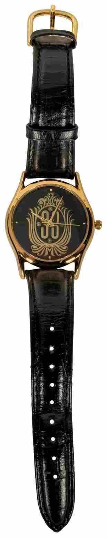 Club 33. Disneyland: Circa 1990s. Gold-tone watch with