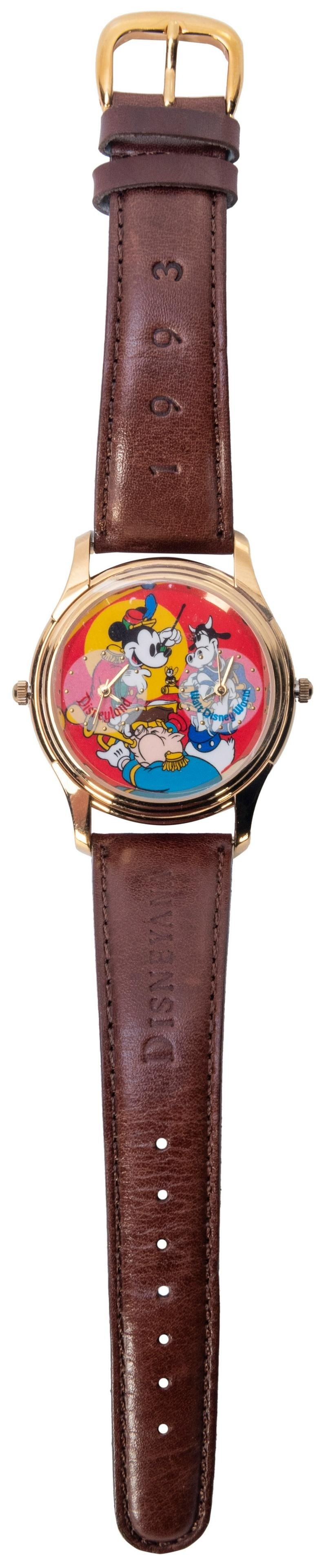 Official Disneyana Convention. 1993. Watch face depicts