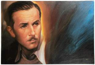 ROWE, John (American). A Man and His Dream. Giclee on