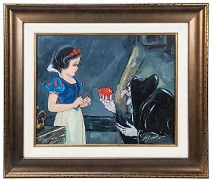 SALVATI, Jim (American, b. 1957). No Ordinary Apple.