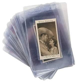 Wills Cigarettes 1931 Cinema Stars 3rd Series Set