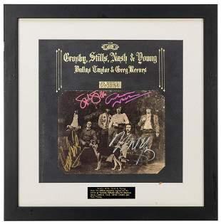 Crosby, Stills, Nash and Young Déjà-vu Album