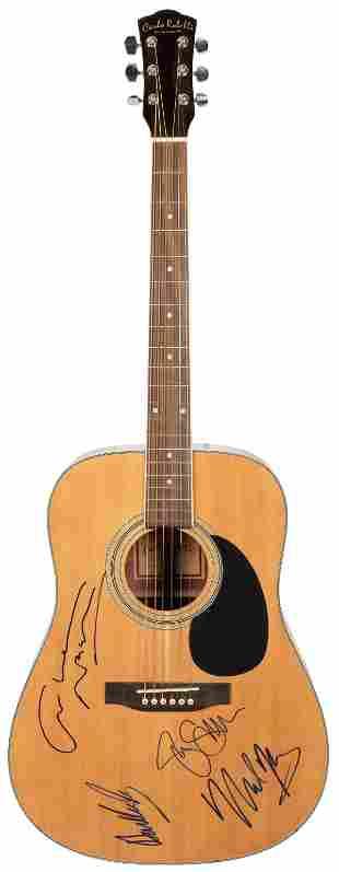 Crosby, Stills, Nash and Young Acoustic Guitar. Carlo