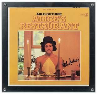 Arlo Guthrie Alice's Restaurant Album. Debut