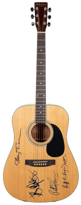 Peter, Paul and Mary Acoustic Guitar. Carlo Robelli
