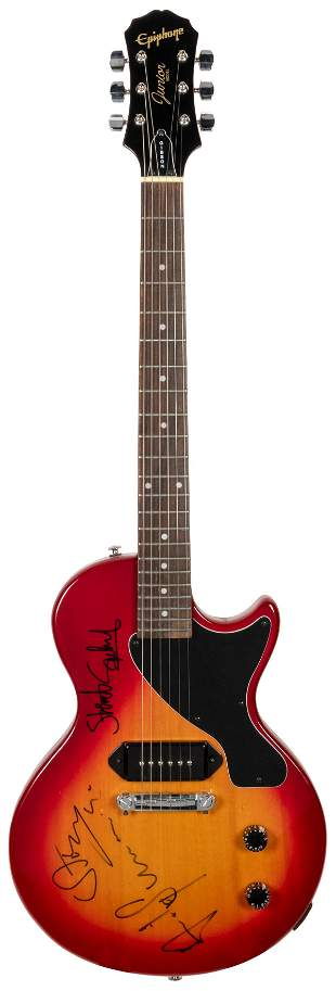 The Police Electric Guitar. Epiphone Junior Les
