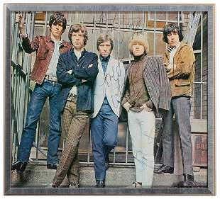 Rolling Stones Publicity Still. Circa 1966. Color
