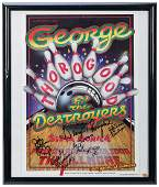 George Thorogood and the Destroyers Concert Poster.