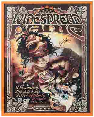 Widespread Panic Poster. Concert poster for December