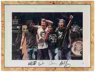 Neil Young and Crazy Horse Display. Color photograph of