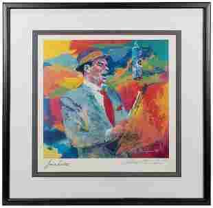 NEIMAN, Leroy (1921-2012). Frank Sinatra. 1993. Color