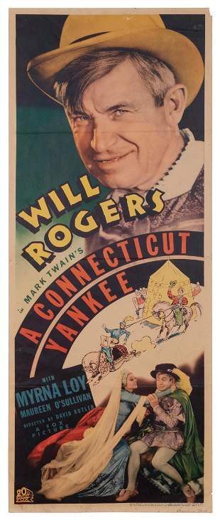 A Connecticut Yankee. 20th Century Fox, R-1936. Insert