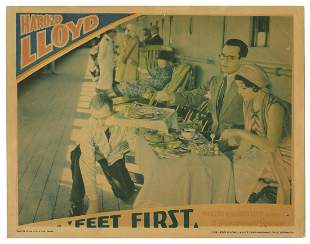 "Feet First. Paramount, 1930. Lobby card (11 x 14"""