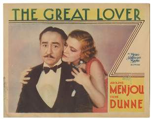 """The Great Lover. MGM, 1931. Lobby card (11 x 14"""""""