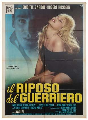 Love on a Pillow. Incei Film, 1962. Italian 2-Fogli (55