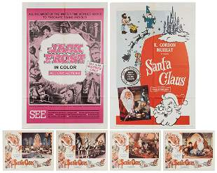 Santa Claus and Jack Frost Movie Poster / Lobby Card