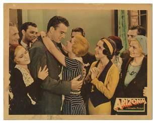 WAYNE, John. Arizona. Columbia, 1931. Lobby card (11 x