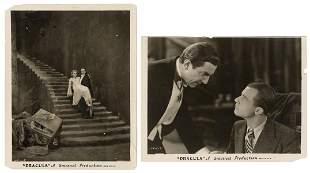 "Pair of Stills from ""Dracula"" (1931)."