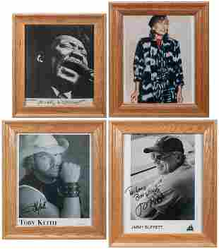 Lot of Signed Celebrity Photographs. Being a collection