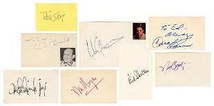 Autograph Auction Lot/Collection. 87 autographs of